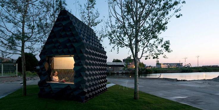 DUS Architects demuestra las ventajas de la impresión 3D con una cabaña de 8 m2