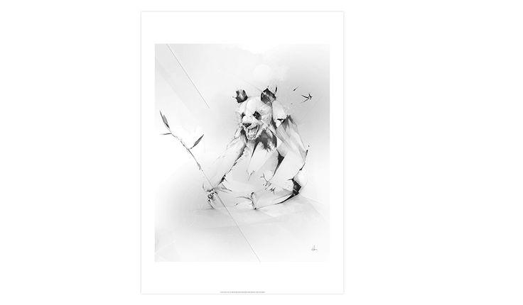 MONOQI   Bad Panda Print