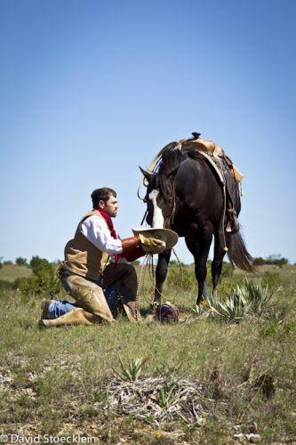 realtionship between a cowboy and his horse