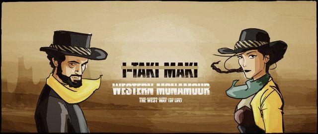 """Video Promozionale per """"Western Monamour : The West Way (Of Life)"""" il nuovo album de I-Taki Maki disponibile dal 14 Febbraio 2014. Video: Mattia Galione Illustrazioni: Massimiliano Meregalli"""
