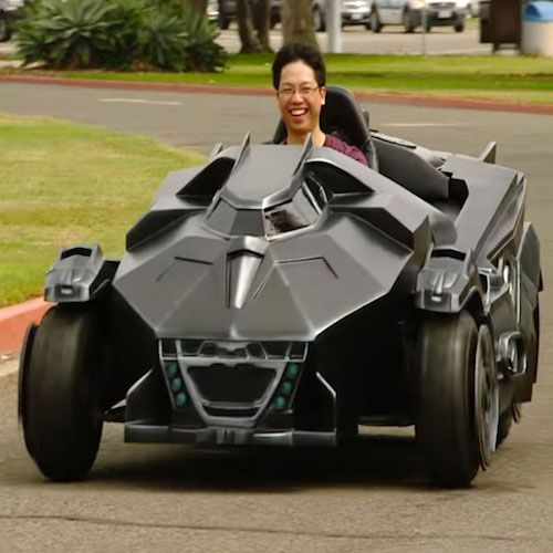 Batman Go-Kart http://howtokillyourmoney.com/listing-345-batmobile-go-kart.html