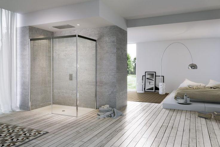 Estetica e facilità d'uso si sposano nelle cabine doccia a porte scorrevoli firmate Duka. Scopri la linea Acqua R 5000 nei nostri showroom.
