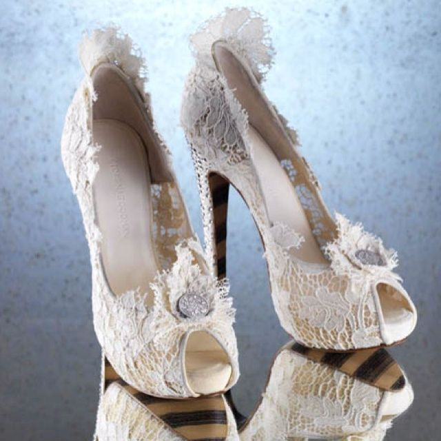 Lace Wedding Shoes / Scarpe da matrimonio con merletto