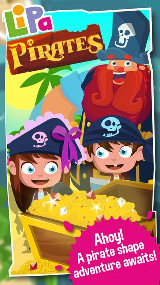 Lipa Pirates are out! Young learners can now learn about geometric shapes the fun way - with Pirates! Find it on App Store.
