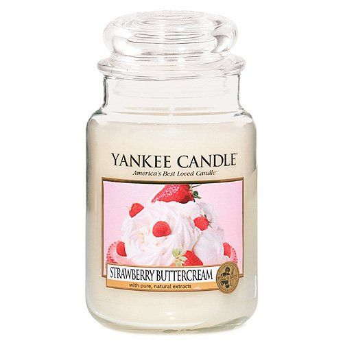 Yankee Candle (Bougie) - Strawberry Buttercream - Grande Jarre Yankee Candle http://www.amazon.fr/dp/B003JOLMLA/ref=cm_sw_r_pi_dp_Sd8Vvb1PTCX6N