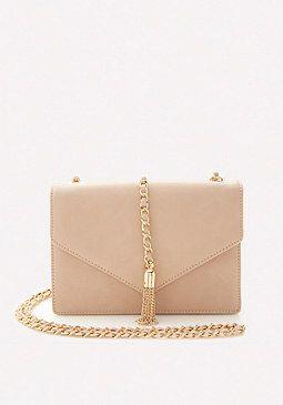 Chain Tasseled Envelope Crossbody Bag from Bebe R490,00