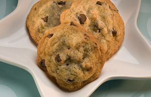 Hershey's Classic Milk Chocolate Chip Cookies  We always make these with Toll House semisweet chocolate chips, though...