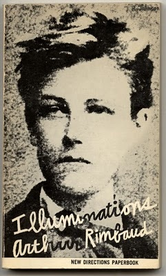 Ray Johnson, Cover for New Directions 1957 Edition of Rimbaud's Illuminations