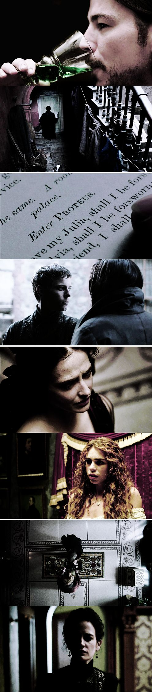 """""""Penny Dreadful"""" I really like this combination of pictures"""