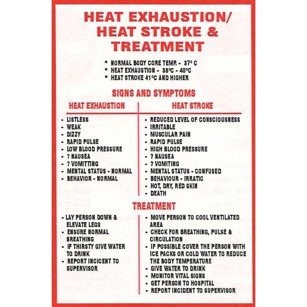 first-aid-treatment-heat-exhaustion-heat-stroke-sign ...
