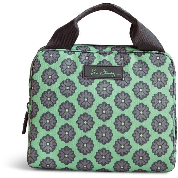 Vera Bradley Lighten Up Lunch Cooler Bag in Nomadic Blossoms ($34) ❤ liked on Polyvore featuring home, kitchen & dining, food storage containers, nomadic blossoms, vera bradley, lunch cooler and vera bradley bags