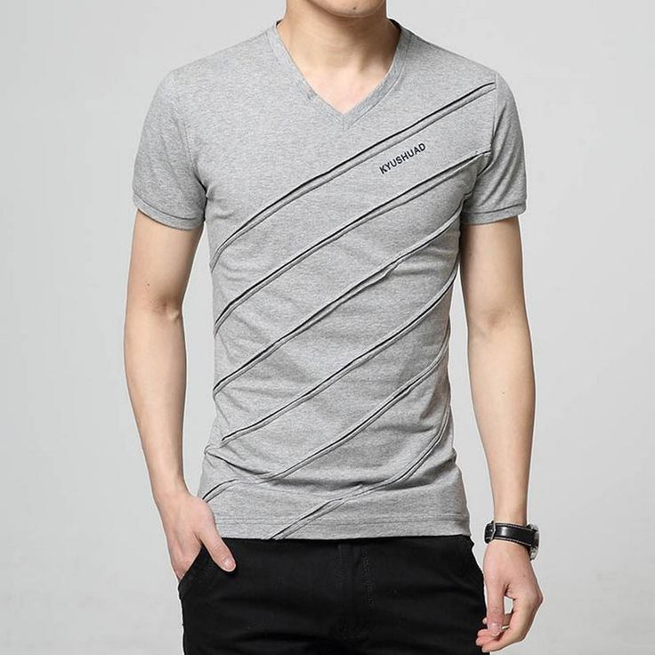 Newest 2016 men's fashion short sleeve Cotton V-neck short-sleeved Tshirt lettersprinted t-shirt Harajuku tee shirts Casual tops