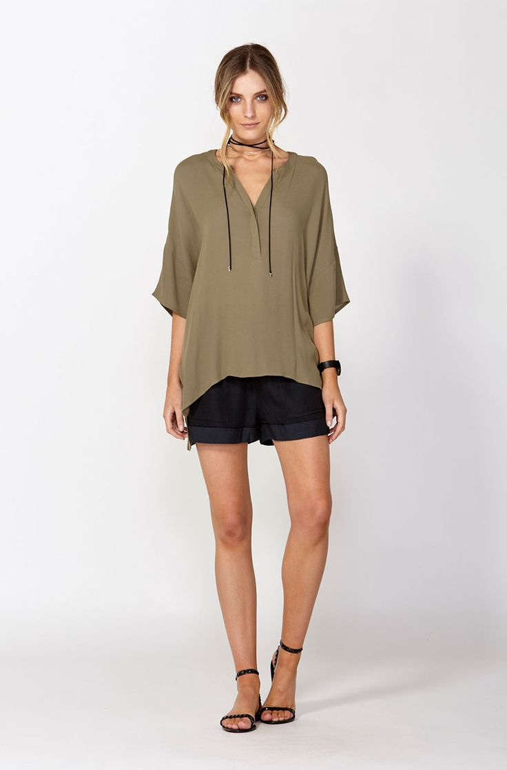 The best of what's new! Shop the Lyon Batwing Sleeve Top in stores and online now www.decjuba.com.au @Decjuba
