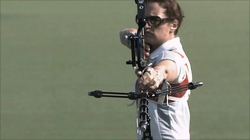Nick Hope discovers how technology is helping Great Britain's Olympic archers improve their chances of success at the 2012 Games.