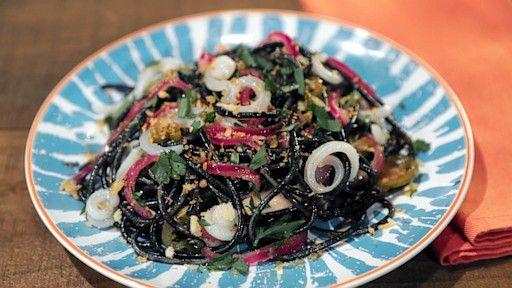 Spooky Squid Pasta MARIO BATALI
