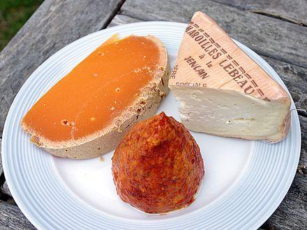 Kazen:mimolette, maroilles en boulette d'Avesnes  #ShoppingFR