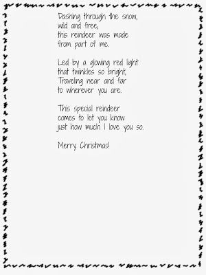 School Time Snippets: Handprint Reindeer, Ornaments, and Poem {free ...