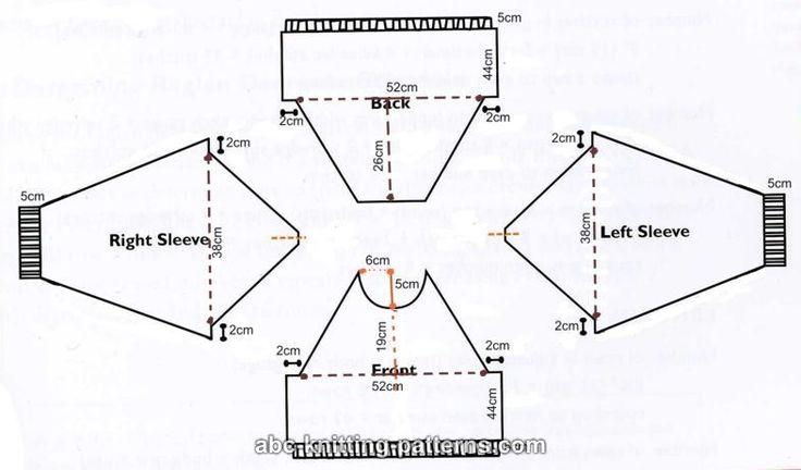 Raglan Sweater Pattern (Knit) - Free Web Generated Knitting
