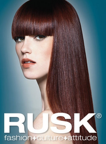 We use Rusk Hair Color and sell their professional Hair ...