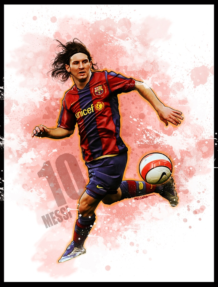 Messi, by Mo Caro