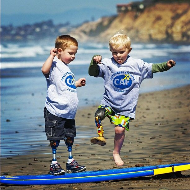 these kids are excited to go surfing. Check out www.abc-med.com/resource for adaptive sports