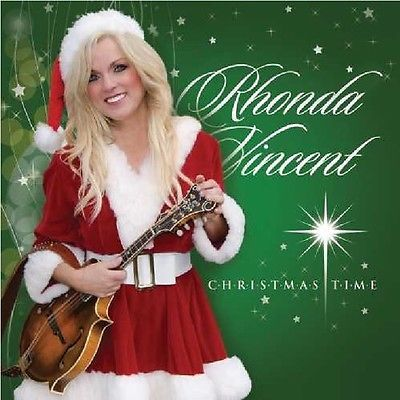 Christmas Songs And Album: Rhonda Vincent - Christmas Time [Cd New] BUY IT NOW ONLY: $10.49