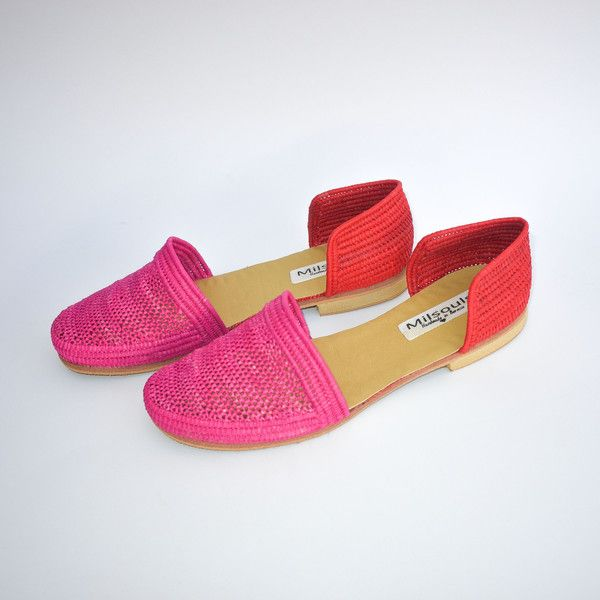 raffia summer sandals #raffia #shoes #handmade #fairtrade #rafia