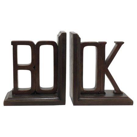 2-Piece Livre Bookend at Joss & Main