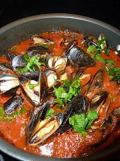 Date Night Mussels Marinara