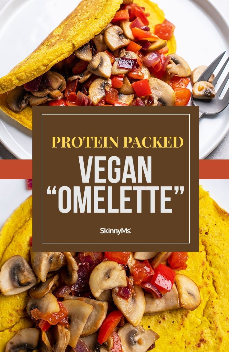 Protein Packed Vegan Omelette Recipe In 2020 Vegan Omelette Delicious Healthy Breakfast Recipes Delicious Vegan Recipes