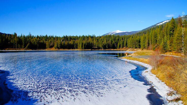 The Crystal-Clear Water, Flathead Lake in Montana
