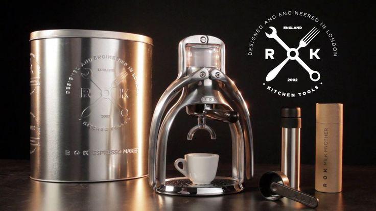 The ROK Manual Espresso Maker