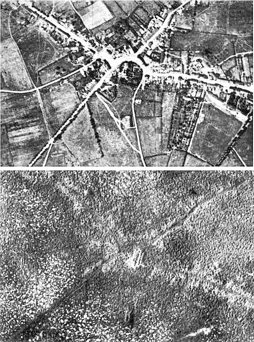 Passchendaele aerial view - Battle of Passchendaele - Wikipedia