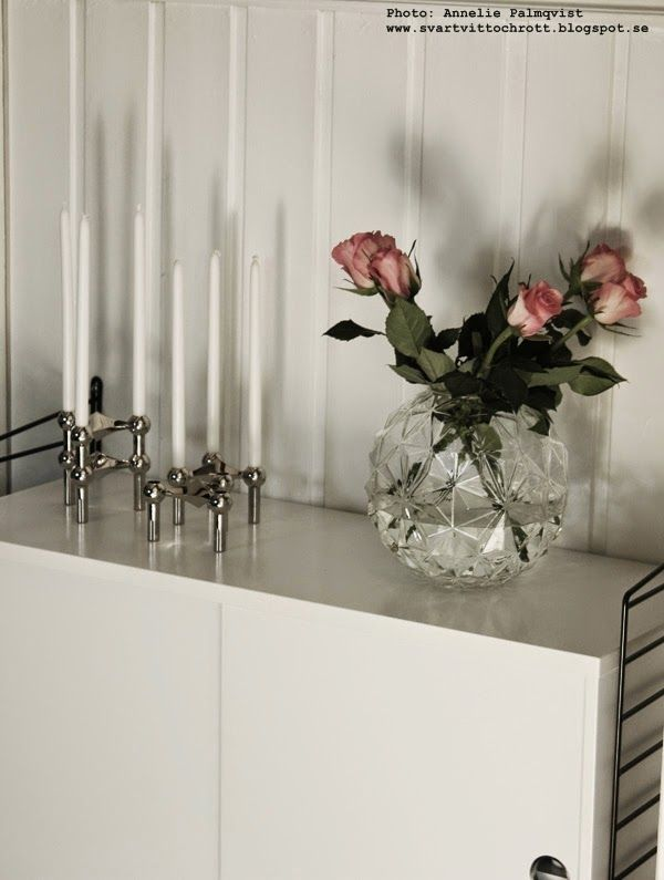 Roses and Nagel candleholder