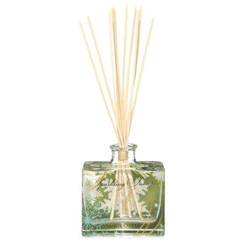 """From 19.42 Yankee Candle """"sparkling Snow"""" Signature Reed Diffuser White"""