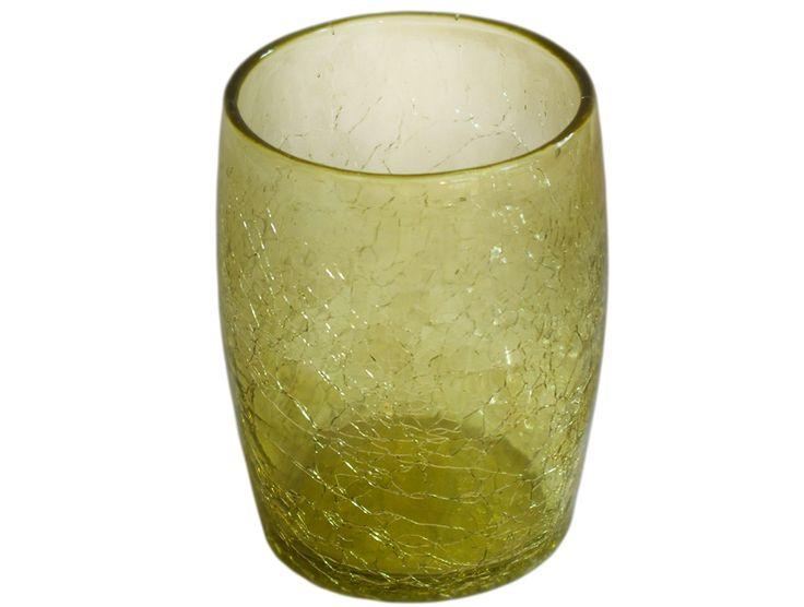 verre a eau ou a whisky miel-clair en verre souffle