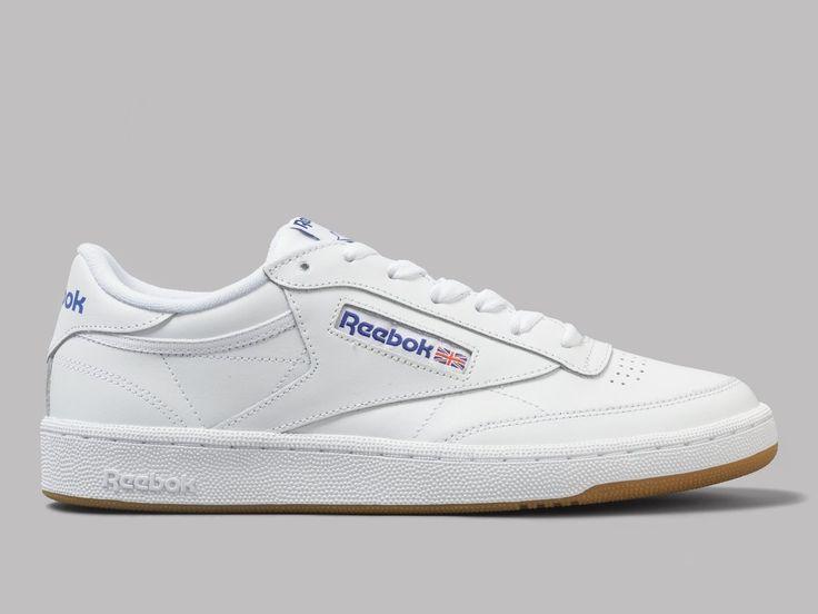 Reebok Club C 85 (White / Royal / Gum)