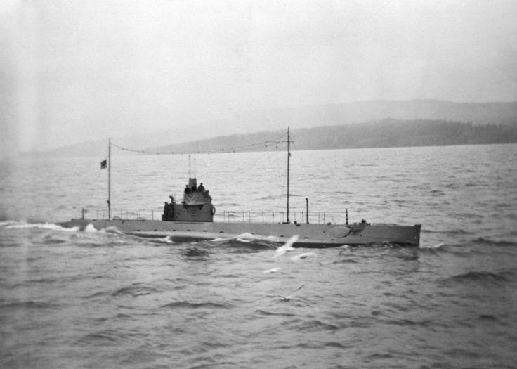 Canadian 'C' Class Submarine CC2 .