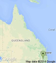 Location of Girraween National Park within Queensland