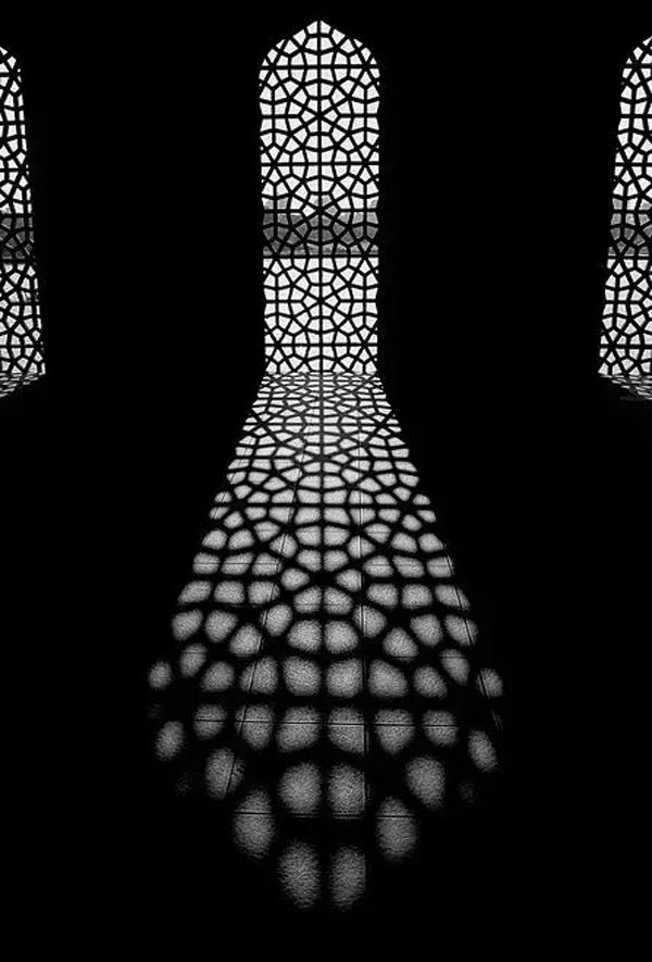 Black -  positive and negative space photography