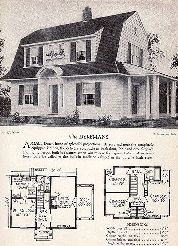 1928 Home Builders Catalog The Dykemans Catalog House