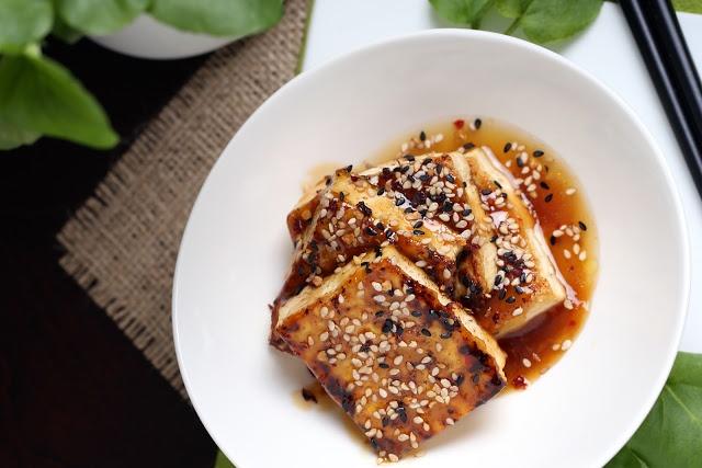 ... for Dinner | Vegan Recipes and Photography: Easy Sesame Glazed Tofu