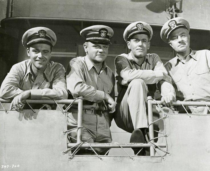 Mister Roberts, 1955 - Jack Lemmon, James Cagney, Henry Fonda & William Powell