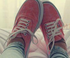 #pink #vans <3