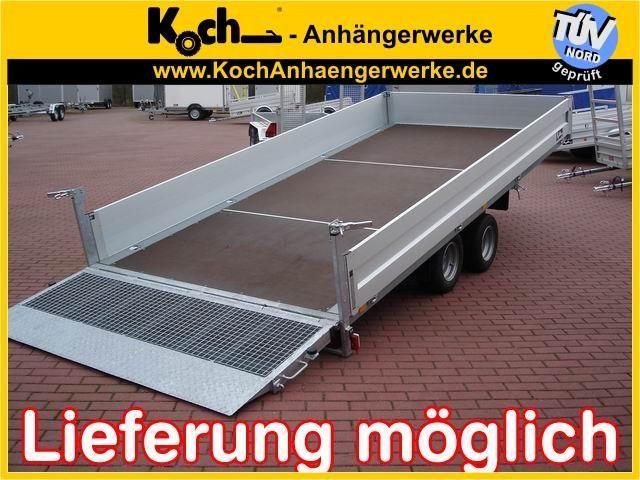 Koch Hochlader,Ladefl.kippbar, 204x426 3,0t, Anhänger PKW-Anhänger in Winsen Luhe, neufahrzeug kaufen bei AutoScout24 Trucks