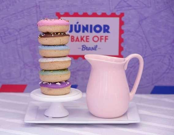 Torta De Donuts Do Junior Bake Off Brasil 29 02 2020 Em 2020