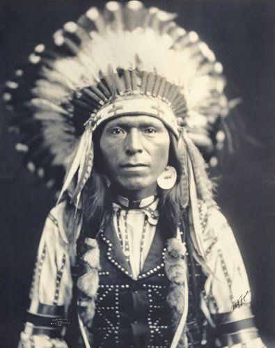 Red Thunder (the nephew of Chief Joseph) - Nez Perce - 1903