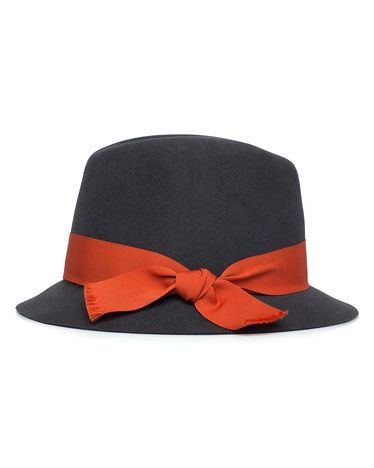 Change up a plain black hat or fedora with a pop of color. You can change out the ribbon to go with different outfits. Love!