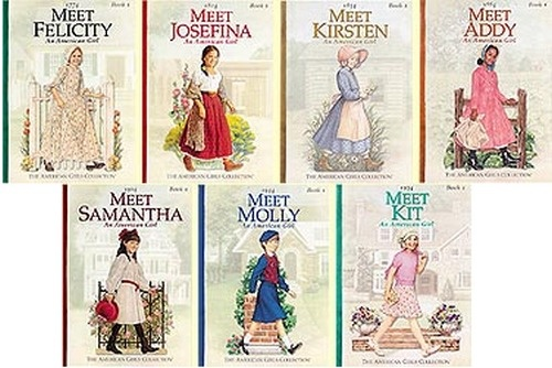 THE ORIGINAL American Girl dolls - lol this series used to be the ONLY thing I read for years in Elementary School! xD
