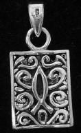 Silver Cross Pendant This type of Christian jewelry is the perfect Christmas gift, Birthday gift or a great gift for any other gift giving holiday. Find it at http://www.handcraftedcollectibles.com/